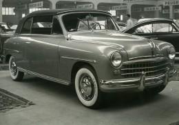 Suisse Geneve Salon International Automobile Show Voiture Fiat 1400 Ancienne Photo 1950