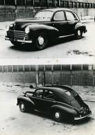 France Salon De L'Automobile Voiture 203 Peugeot Ancienne Photo 1947