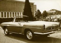 France Automobile Voiture Renault Dauphine Floride Cabriolet Ancienne Photo 1959