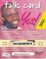 KENYA - Kencell Prepaid Card 300 Kshs(thin Paper), Exp.date 31/12/02, Used - Kenya