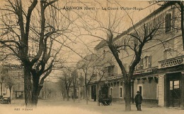 ARAMON  LE COURS VICTOR HUGO - Aramon