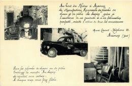 ARAMON  MANUFACTURE PROVENCALE DE PLOMBS    Quai Carnot  Téléphone Le 21 à Aramon - Aramon