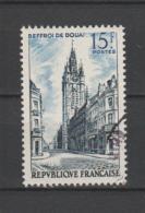 FRANCE / 1956 / Y&T N° 1051 : Beffroi De Douai - Choisi - Cachet Rond - France