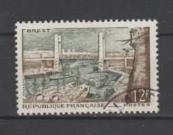 FRANCE / 1957 / Y&T N° 1117 : Port De Brest - Choisi - Cachet Rond - France
