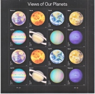 US SPACE  SHEETLET   **  SPACE  OUR  PLANETS - United States