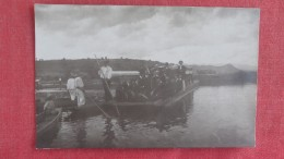 RPPC Unknown Location=group On Boat Ferry Type==  Ref 2231 - Postcards