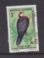 New Caledonia SG 407 1966 Birds 3F Caledonian White Throated Pigeon Used - Usati