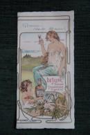 Superbe MENU Pour Une Repas De BAPTEME En 1904 - ART DECO . - Menus