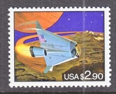 US 2542    **    FUTURISTIC  SPACE  SHUTTLE - Space