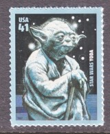 US  4205    **      SPACE  STAR  WARS  YODA - United States