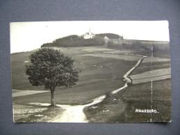 Sudetenland: ANNABERG - Foto Hans Olbrich Würbenthal (Vrbno) - Stempel Stanzel Gastwirtschaft Annaberg Post. Engelsberg - Sudeten