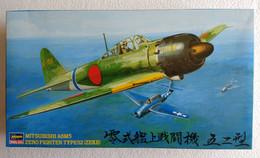 Mitsubishi A6M5 Zero Fighter Type 52 ( Zeke ) 1/48  ( Hasegawa ) - Airplanes