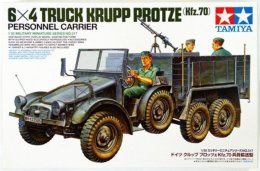 6x4 Truck Krupp Protze Personnel Carrier  ( 1/35 Tamiya ) - Military Vehicles