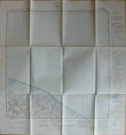 Wisch 15 28 - Topographische Karte 1:25000 - 55cm X 58cm - Mehrfarbige Ausgabe 1954 Durch Das Landesvermessungsamt Schle - Topographische Karten