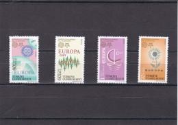 Turquia Nº 3212 Al 3215 - 1921-... República