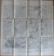Hameln 3822 - Topographische Karte 1:25000 - Ausgabe 1954 Durch Das Niedersächsische Landesvermessungsamt - Topographische Karten