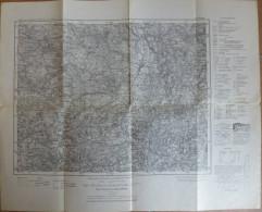 Weiden 551 - Karte Des Deutschen Reiches 1:100'000 - 50cm X 50cm - Herausgegeben Vom Bayrischen Landesvermessungsamt Mün - Topographische Karten