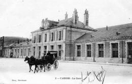La Gare En 1905 - Cahors