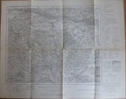 Lemgo 309 - Karte Des Deutschen Reiches 1:100'000 - 50cm X 50cm - Herausgegeben Vom Landesvermessungsamt Nordrhein-Westf - Topographische Karten