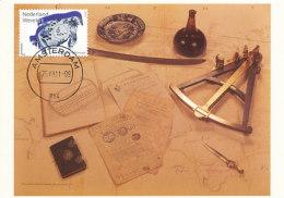 D23634 CARTE MAXIMUM CARD FD 2011 NETHERLANDS - VOC POTTERY - ROUNDING KAAP SOUTH AFRICA - DETAIL ON STAMP - CP ORIGINAL - Zonder Classificatie