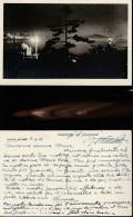 5795) ISTAMBUL AT NIGHT NOTTURNO PANORAMA NON VIAGGIATA DATATA 1951 - Turchia