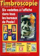 Timbroscopie N.116,9/1994,1F Empire,Marianne Gandon F,faux Sperati,Cameroun France Libre,Palestine,USA RF,Somalie, - Magazines