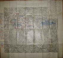 Karte Für Die Herbstübung Der 1. Division N°23 Der 3. Division N°32 Und Für Die Besonderen Kavallerieübungen 1903 - Zeit - Topographische Karten