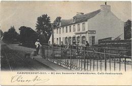 Campenhout-Sas NA1: Bij Den Sassenier Koekelkoren. Café-Restaurant 1910 - Kampenhout