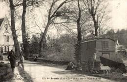 SAINT AVERTIN - Route Sur Le Bord Du Cher - Tres Bon état  -   2 Scan - Saint-Avertin