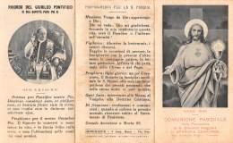 """05565  """"SPARONE CANAVESE  (TO) - COMUNIONE PASQUALE 1929 - LIBRERIA ARCIVESCOVILE DAVERIO MILANO"""" IMM. RELIG. ORIGIN. - Santini"""