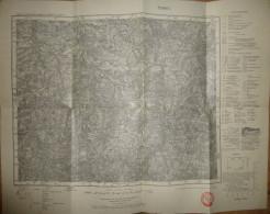 Zwickau 468 - Karte Des Deutschen Reiches 1:100'000 - Ausgabe F - Herausgegeben Vom Reichsamt Für Landesaufnahme Sachsen - Topographische Karten