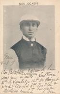 CPA USA Turf Nos Jockeys Alb Johnson Postée De Paris En 1905 - Etats-Unis