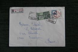 Envleloppe Timbrée Adressée De CULLERA à BESANCON - 1931-Aujourd'hui: II. République - ....Juan Carlos I