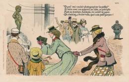 CPA BELGIQUE BRUXELLES Manneken-Pis Humoristique Illustrateur Edition Marcovici - Monuments, édifices