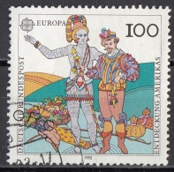 "1745 Germania 1992 "" ..Laudonniere...Athore "" Quadro Dipinto Da J. Moyne De Morgues Used Paintings Tableaux - American Indians"