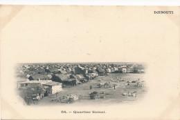 CPA DJIBOUTI Quartier Somal - Gibuti