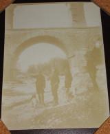 1895 Le Pont Du Gard - Photo 9X11cm Militaire Militaria - Bien Lire Descriptif