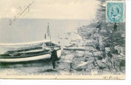 STE ANNE DE BELLEVUE - --BASS FISHING - Quebec