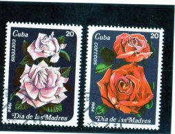 1984 Cuba - Giornata Della Madre - Rose - Rosen