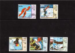 1988 Laos - Olimpiadi Invernali Di Calgary - Invierno 1988: Calgary
