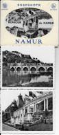 NAMUR . Petit CARNET Complet De 10 Cartes Vues De NAMUR . Noir Et Blanc . 9 X 7 CM . - Namur