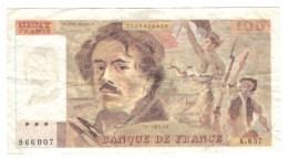 100 Francs Delacroix 1988 FAUX Pour Servir - 1962-1997 ''Francs''