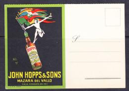 TRE-12 JOHN HOPP&SONS MAZARA DEL VALLO - Publicidad