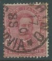 1891-96 REGNO USATO UMBERTO I 10 CENT - U43-2 - Gebraucht