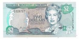 Bermuda 2 Dollars 2000 UNC - Bermude