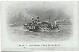 "An Bord Des Rheindampfers ""Kaiserin Auguste Victoria"" - Mainz"