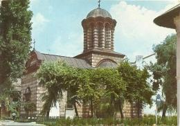 ROMANIA   BUCURESTI  Biserica Curtea Veche - Romania