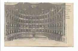 FERRARA  TEATRO COMUNALE  ARCH ANTONIO FOSCHINI VIAGGIATA FP  1905 - Ferrara