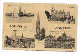SOUVENIR D'ANVERS VIAGGIATA FP ANNO 1936 - Belgium