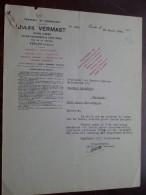Jules VERMAST - EECLOO (Schuldvordering) Campo Herenthals - Anno 1934 ( Details Zie Foto´s ) ! - 1900 – 1949